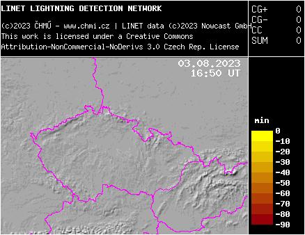 Detekcia bleskov