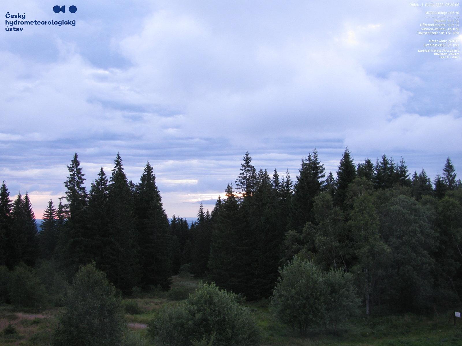 Webkamera - Churáňov