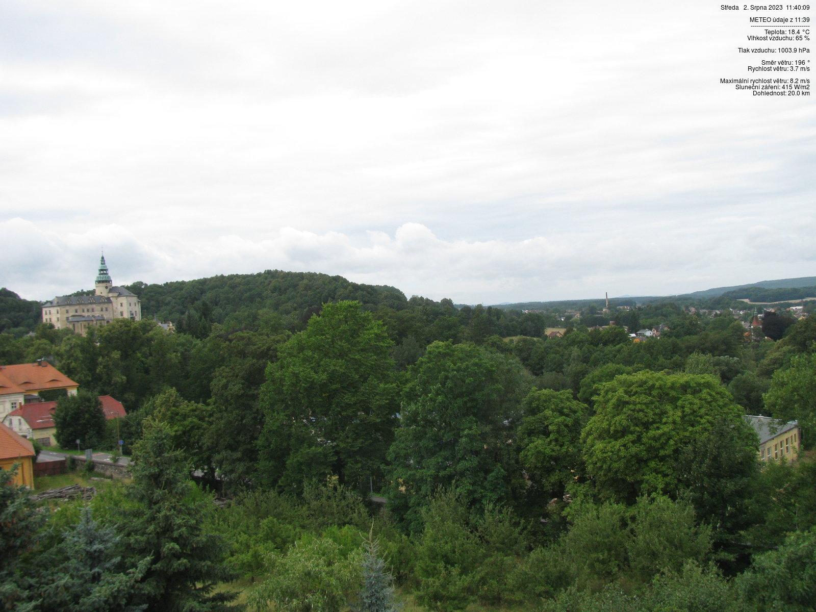 Webcam - Frýdlant v Čechách