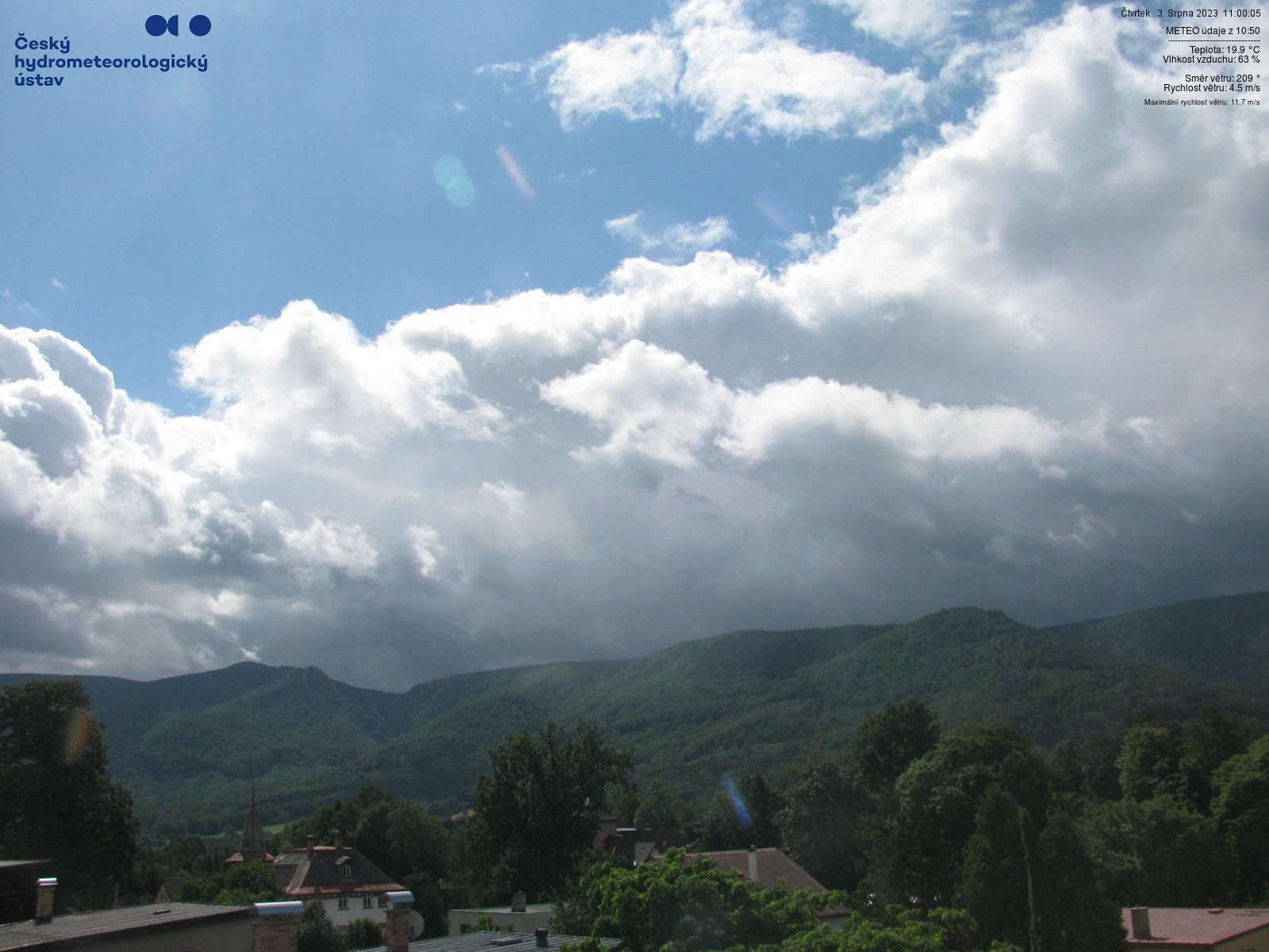 Webcam - Hejnice