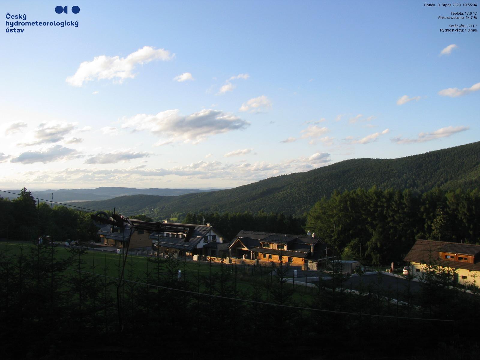 Webcam - Hojsova Stráž