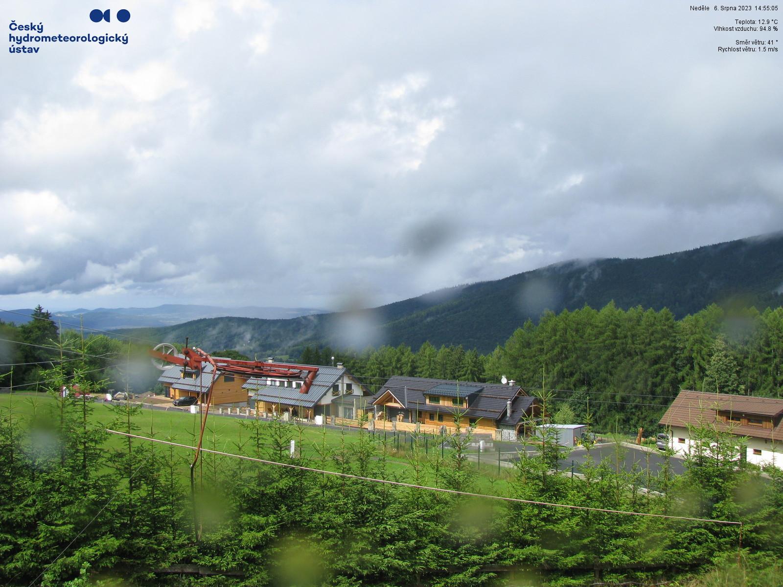 Webkamera - Hojsova Stráž