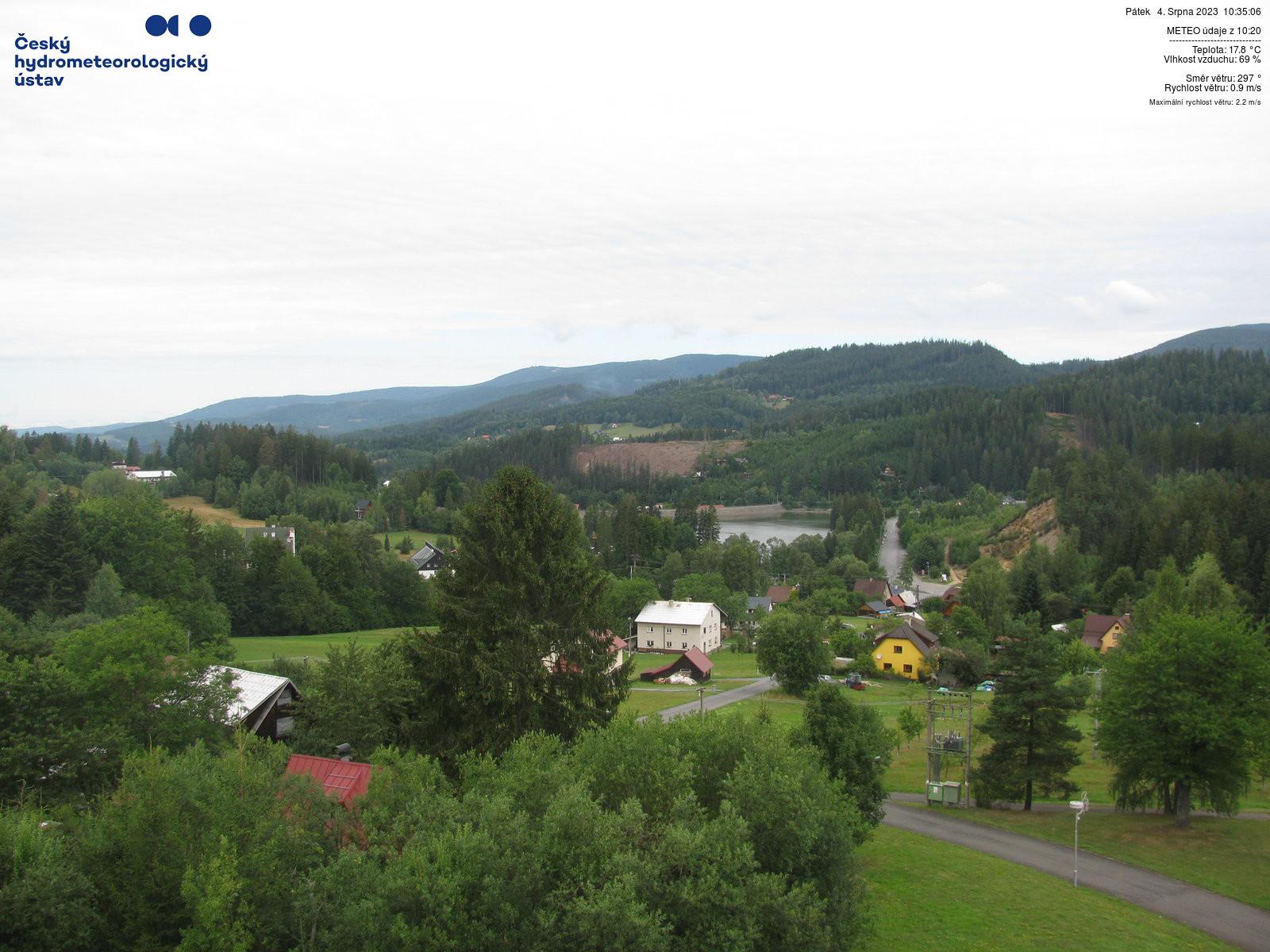 Webcam - Horní Bečva