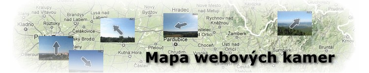mapa webovýc kamer #Věda