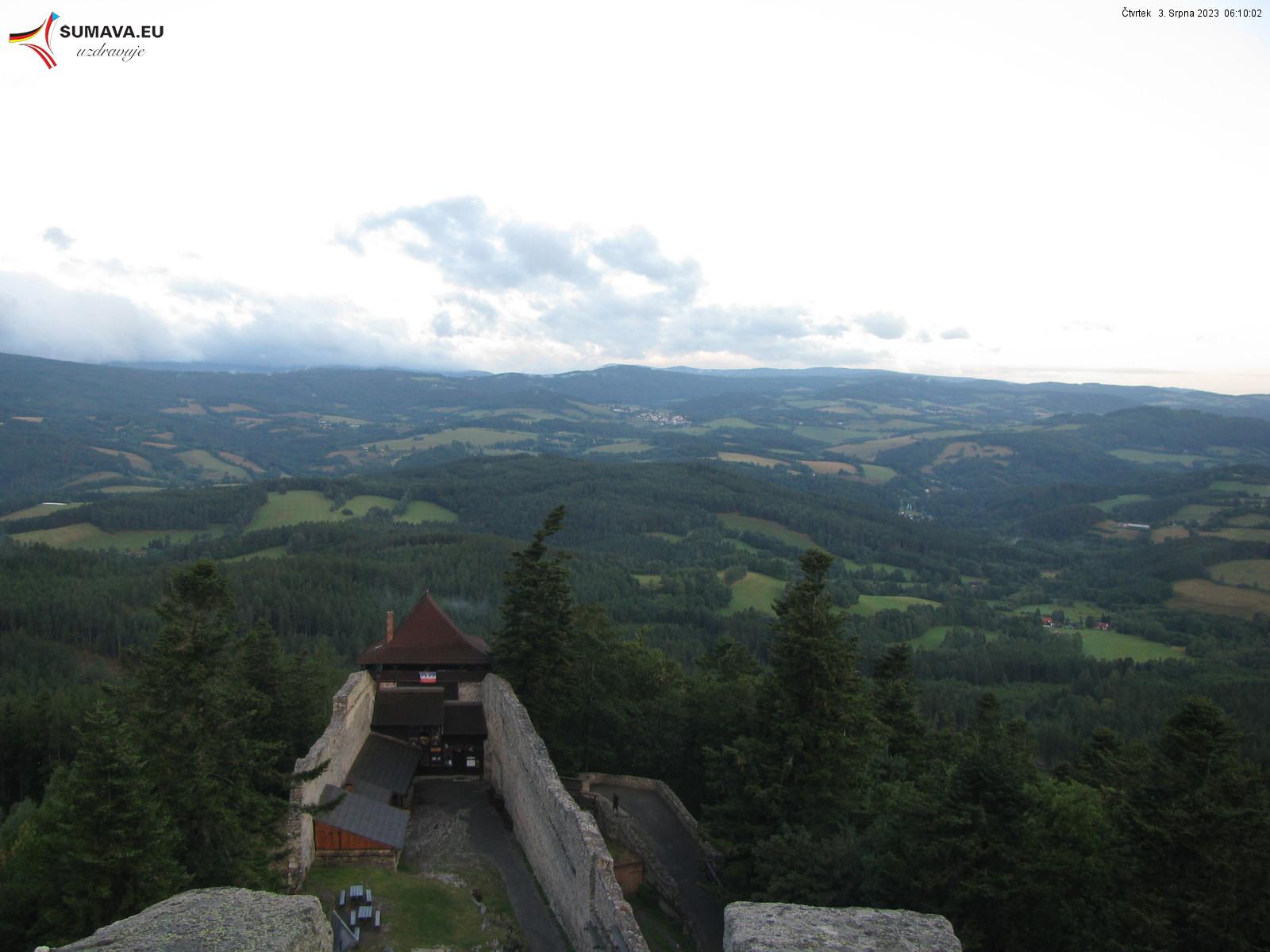 Webcam - Burg Kašperk