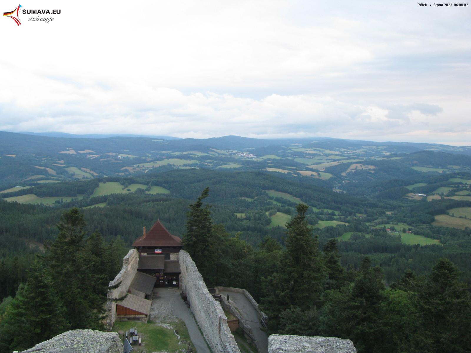 Webkamera - Hrad Kašperk