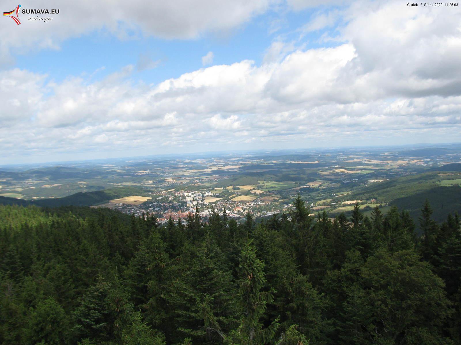 Webkamera - Libínské sedlo