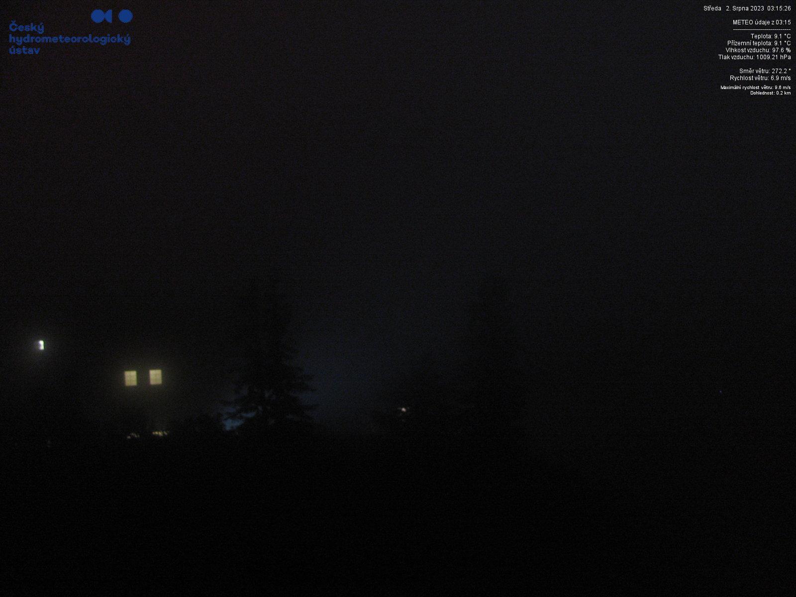 Webkamera Lysá hora - jihovýchod
