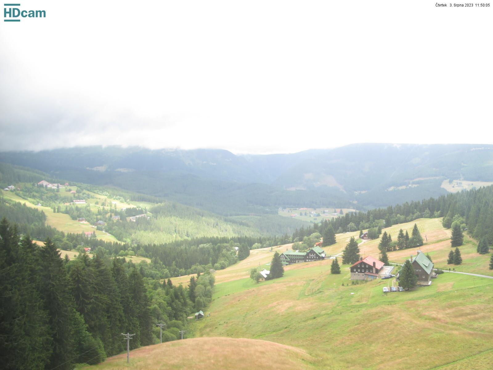 Live-kamery Krkonoše - Pec pod Sněžkou