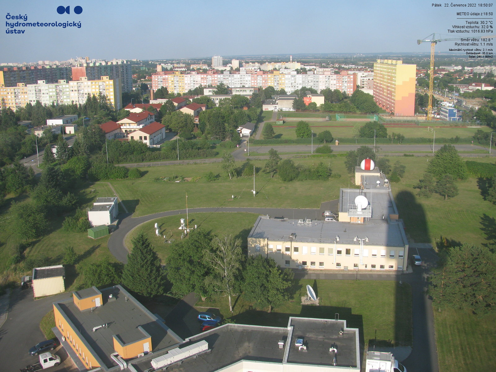 Webkamera z Prahy