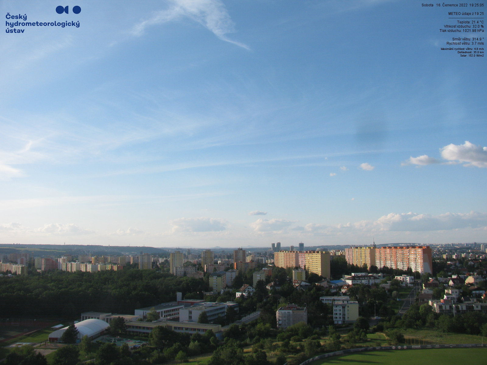 Webkamera AMS Praha-Libuš