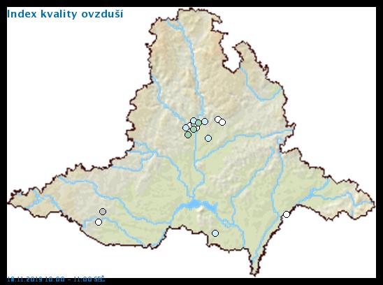 Kvalita ovzduší v Jihomoravském kraji